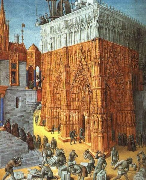 The Building Of A Cathedral